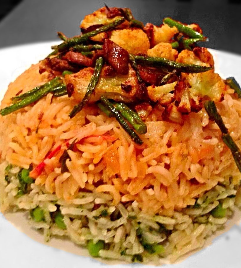 Duplex Vegetable Pulao