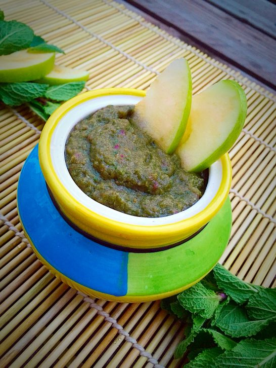 Green Apple & Mint Chutney