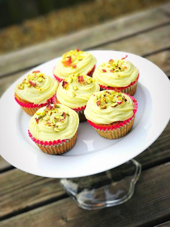 Thandai Cupcakes