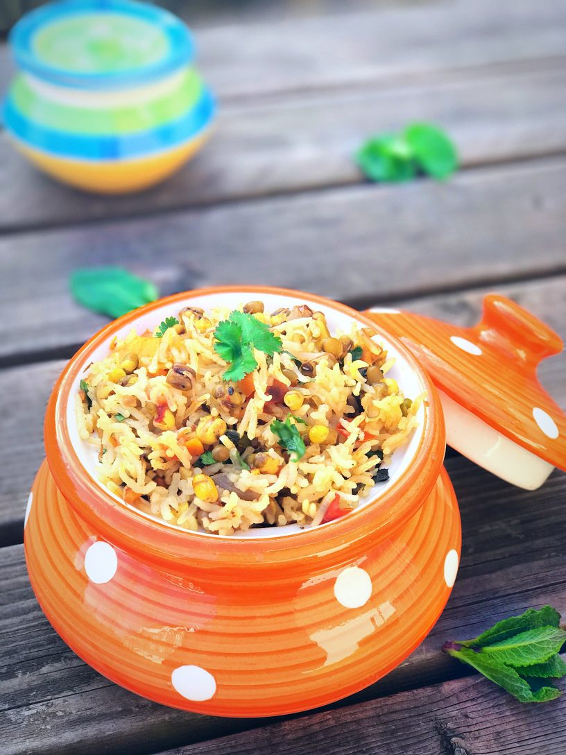 Sprouts Pulao