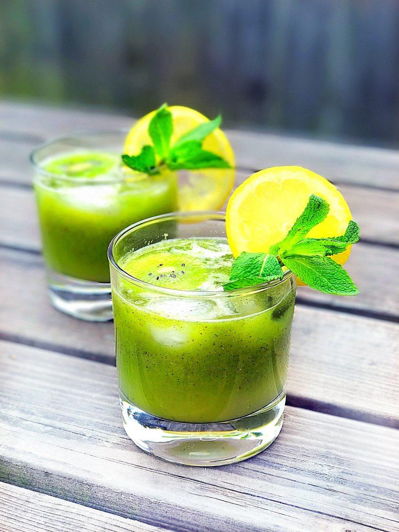 Kiwi & Mint Lemonade