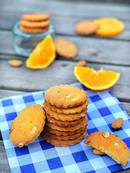 Orange & Almond Biscuits
