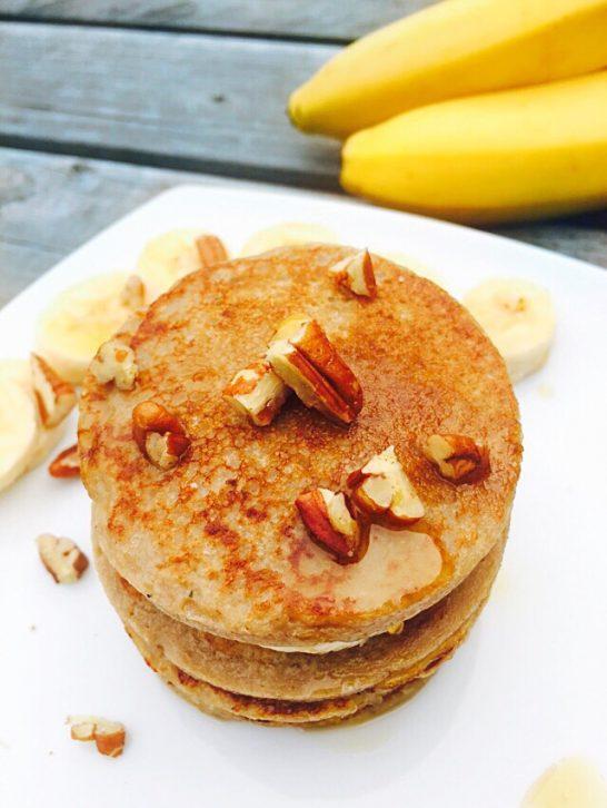 Banana Oats Pancakes
