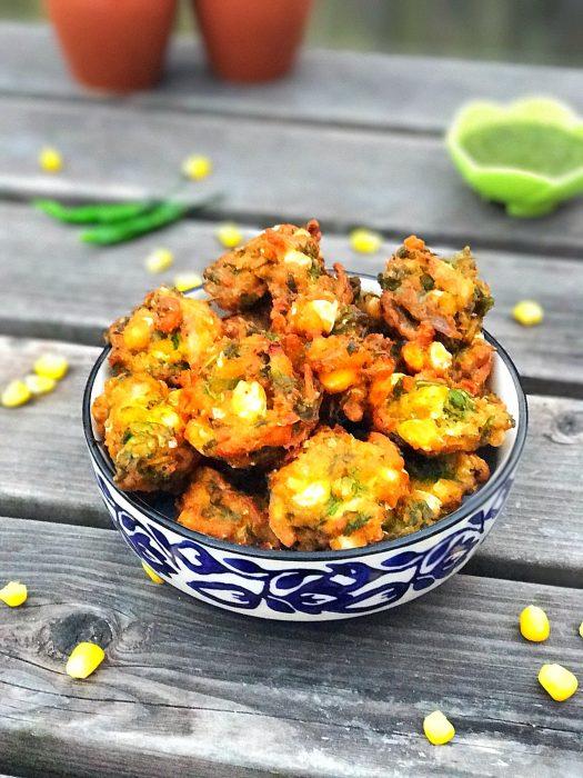 Corn Bhajiya