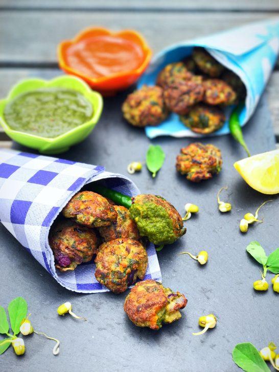 Sprouts & Methi Bhajiya