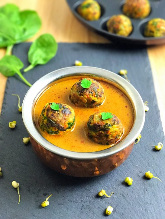 Sprouts & Spinach Kofta