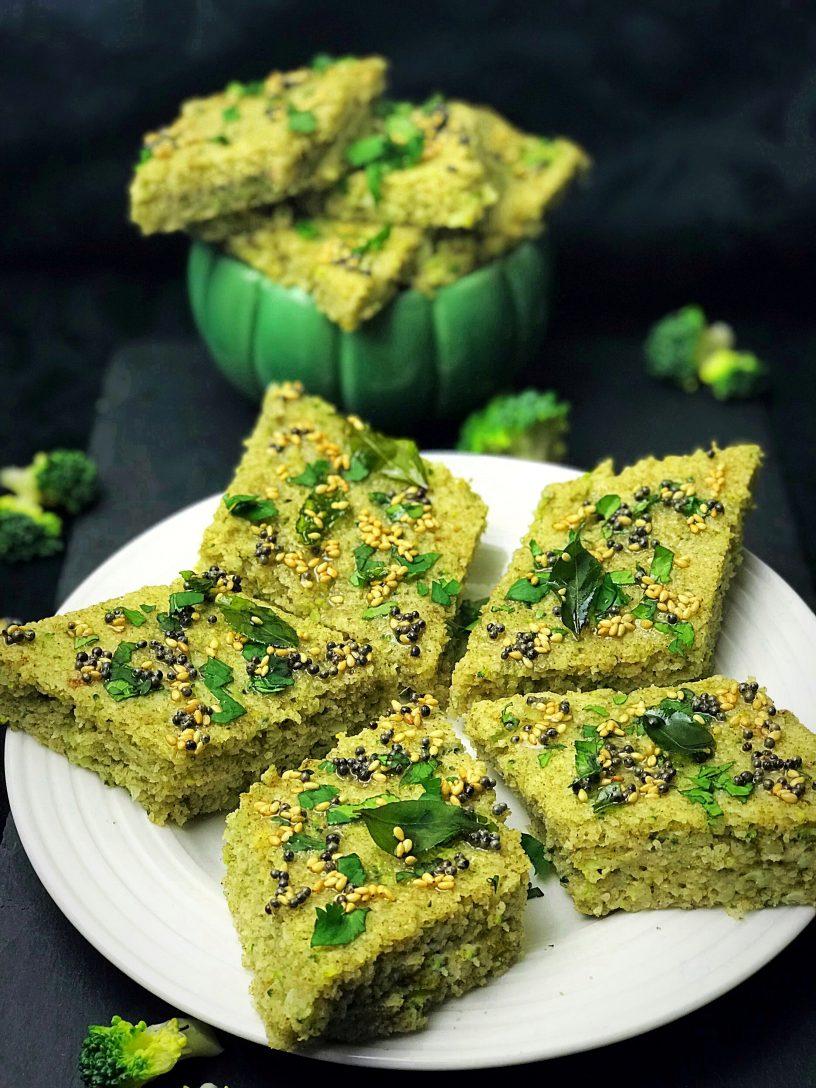 Broccoli Dhokla