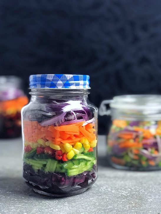 Pickled Rainbow Salad